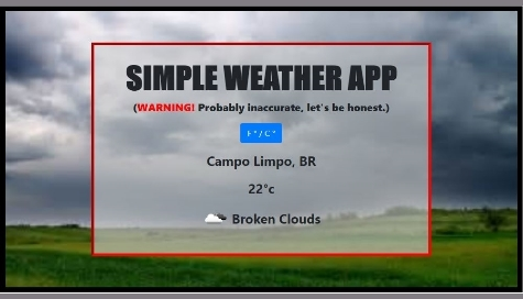 Simple Weather App